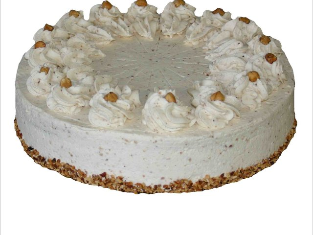 Gute Laune Service Nuss Sahne Torte